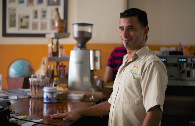 Joaquín Pastor owner of Café Finca Cialitos