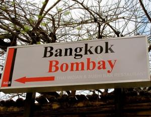 Bangkok and Bombay