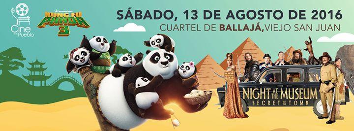 Cine en tu Pueblo- Ballajá Agosto 2016