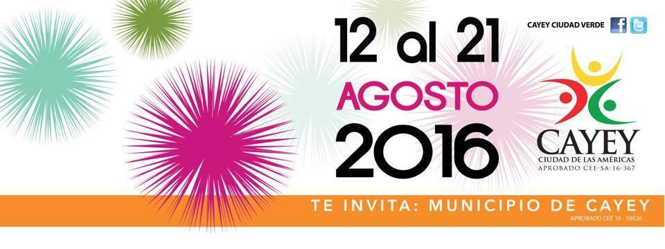 Fiestas Patronales in Cayey