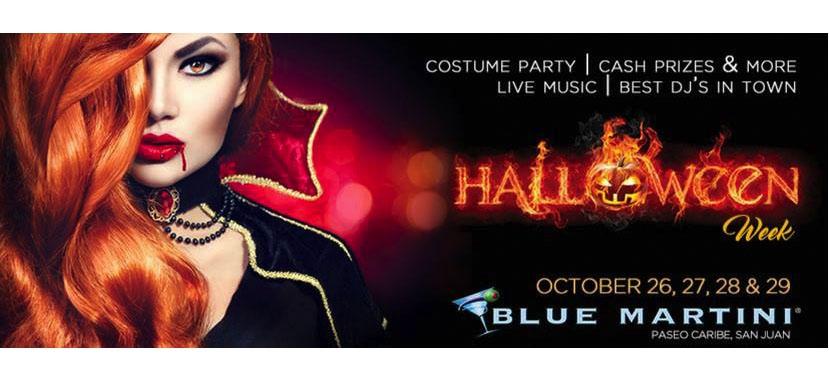 Halloween Week at Blue Martini