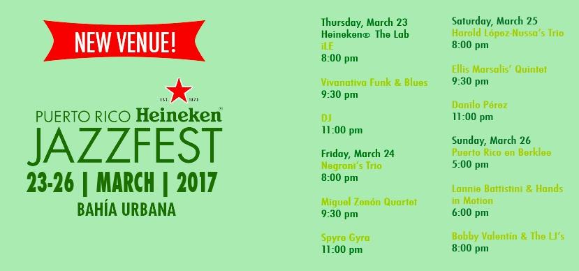 Heineken Jazz Fest 2017