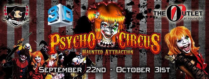 PSYCHO CIRCUS HAUNTED ATTRACTION - 3D