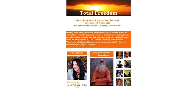 TOTAL Freedom - Consciousness Liberation Retreat