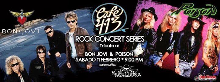 Tributo A Bon Jovi & Poison: at Café 413, Rincón