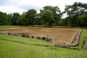 Bateyes in Caguana Indian Ceremonial Park