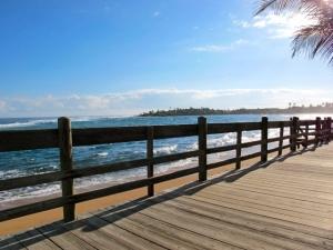Boardwalk in Piñones, Puerto Rico