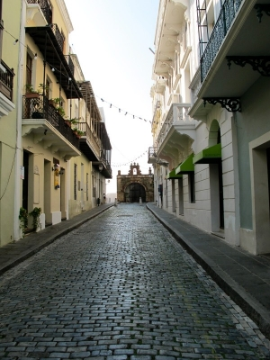 Calle Del Cristo, Old San Juan, Puerto Rico