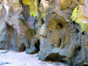 Carvings on limestone La Cueva del Indio