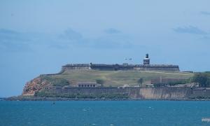 El Morro viewed from Cataño, Puerto Rico