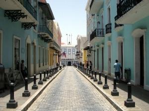 Fortaleza Street, Old San Juan, Puerto Rico