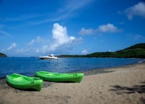 Kayaks on Tamarindo Beach, Culebra