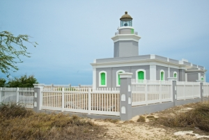 Los Morrillos Lighthouse in Cabo Rojo