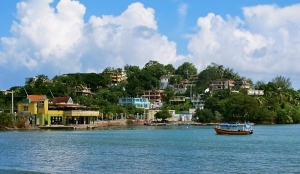 Malecón in town of Naguabo