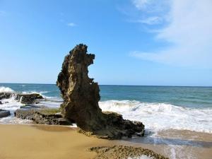 Natural Sculpture, Guajataca Beach, Puerto Rico