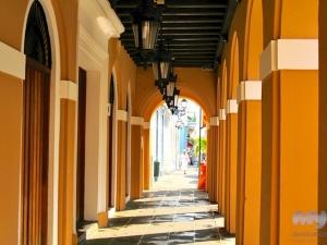 Old San Juan Scene