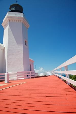 Punta Morrillo Lighthouse in Arecibo