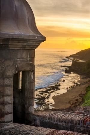 """Garita"" Sunrise Old San Juan"