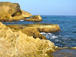 Rocks near Montones Beach, Isabela, PR