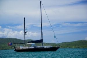 Sailing Yacht on Fulladoza Bay, Culebra