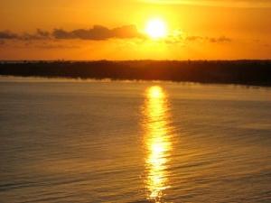 Sunrise over Piñones, Puerto Rico