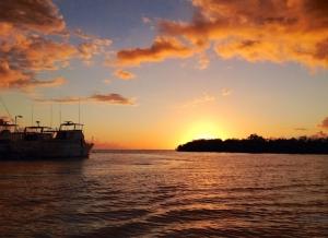 Sunset Bahía de Rincón