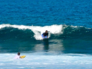 Surfing in Puerto Rico