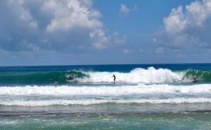 Trio of Surfers, Aviones Beach, Piñones