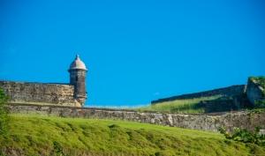 View of Castillo San Cristobal Grounds
