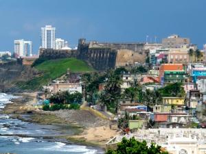 View of La Perla from El Morro