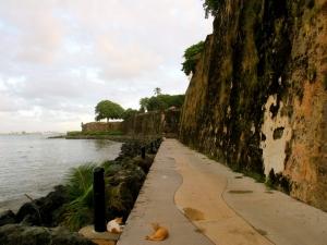 Walls of Old San Juan, PR