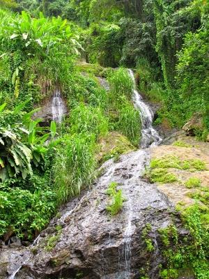 Waterfall near Orocovis, Puerto Rico