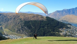 Flying high in Queenstown