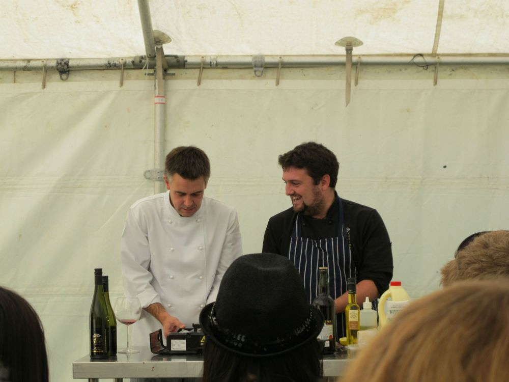 Master Classes at Gibbston Food and Wine Festival