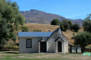 Cardrona Hall and Church