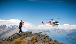 Glacier Southern Lakes Helicopters Weddings