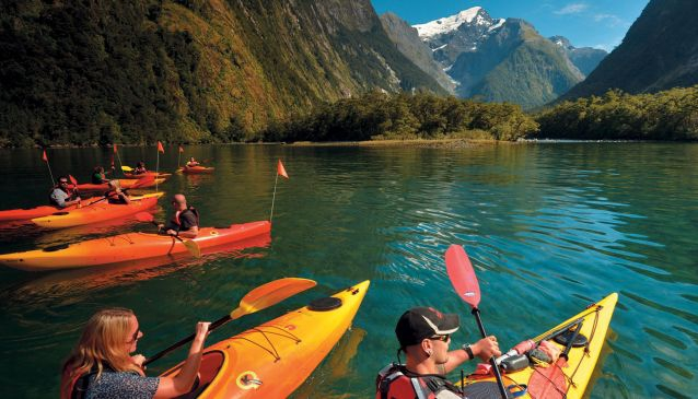 Milford Sound Cruise and Kayaking Combo