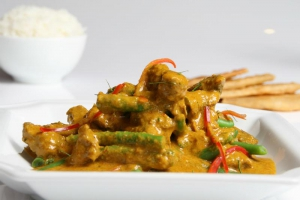 Delicious and spicy curries