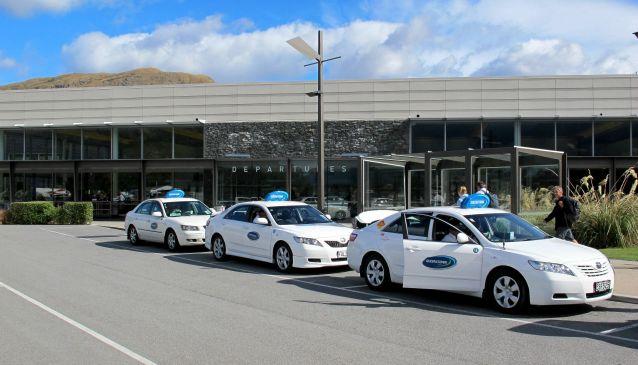 Queenstown Blue Bubble Taxi