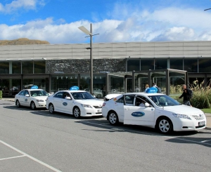 Queenstown Blue Bubble Taxi