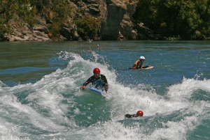 Riverboarding
