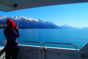 View from Spirit of Queenstown to Glenorchy
