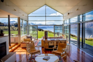 Whare Kea Lodge Lounge