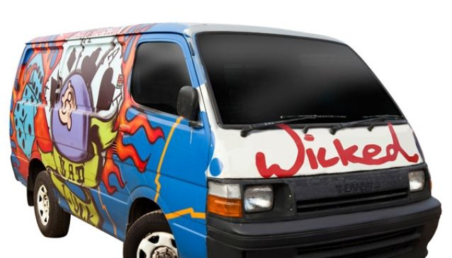 Wicked Campers Queenstown