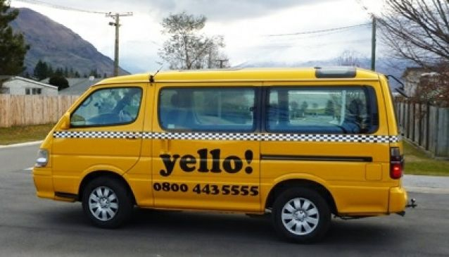 Yello Taxis Wanaka