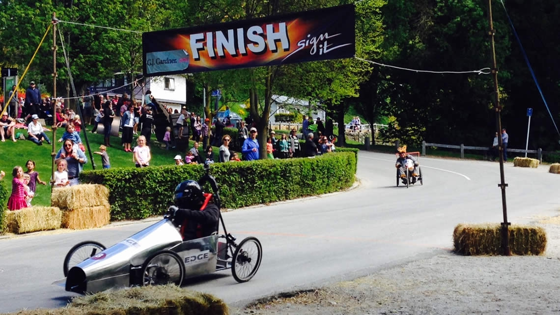 Arrowtown Trolley Race