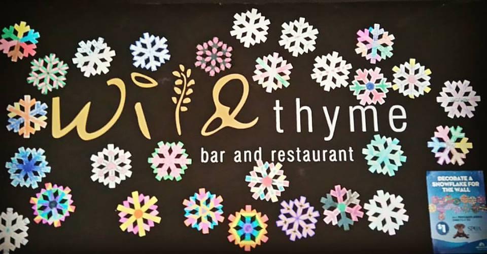 Lunch Specials at Wild Thyme Restaurant