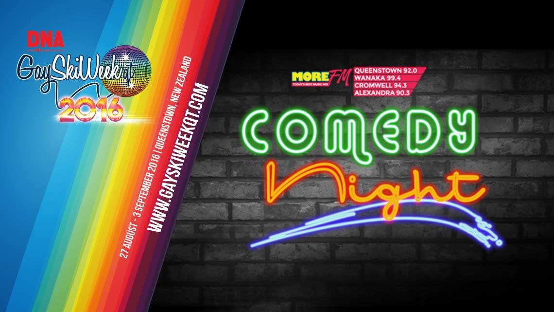 MoreFM presents Comedy Night