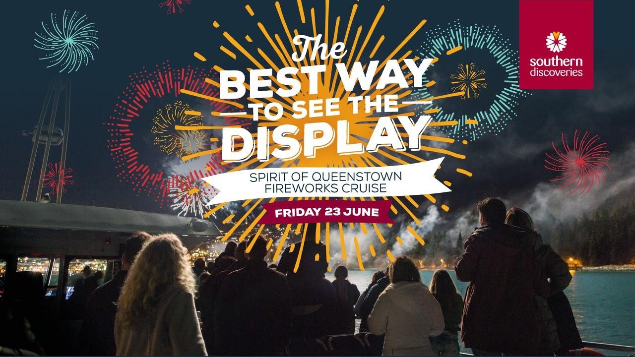 Spirit of Queenstown Fireworks Cruise
