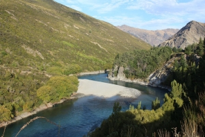 Kawarau River, view from Waitiri Loop Walk